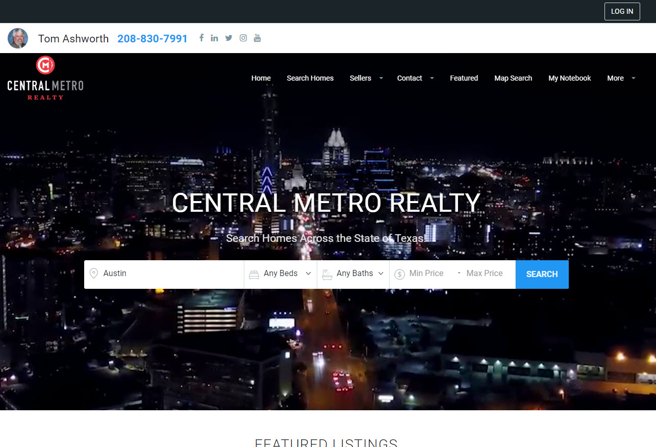 Tom Ashworth's Central Metro Realty Site